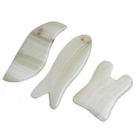 Wholesale spa health care resale online - Gua Sha Massage Jade Scraping Tool SPA Salon Supplier Skin Facial Back Care Treatment Beauty Health Tools styles RRA1395