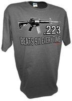 калибра орудий оптовых-.223 калибра штурмовая винтовка Ar15 M16 Ak47 Colt 45 1911 Pro Guns огнестрельное оружие 9 мм тройник новые топ тройники, МОДА СТИЛЬ мужчины тройник,