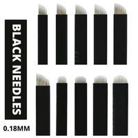 Wholesale 100Pcs Microblading Blades Needle U Shape For Semi Permanent Makeup Eyebrow Tattoo Manual Pen