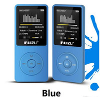 Wholesale original English version Ultrathin MP3 Player with GB storage and Inch Screen can play h Original RUIZU X02 DHL