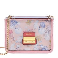 Wholesale candy flower cross body bags for sale - Group buy Pink Sugao shoulder crossbody bag fashion transparent jelly chain messenger bag luxury designer set for coin purse suit new style
