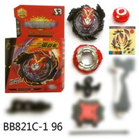 Wholesale beyblade toys online - Hot Sale Beyblade Burst Toys Arena B96 Metal Fusion spinning top gyro With Launcher and box God D Beyblades Toy For Kids