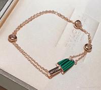 creme armband großhandel-Neue luxus designer schmuck frauen eis armband damen gold klassischen charme armband braccialetto di lusso Pulseira de luxo