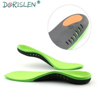 Wholesale pu gel pads resale online - Orthotic Insoles For Flat Feet Arch Support Gel Shock Absorption Orthopetic Shoe Pads