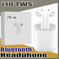 Wholesale I10 Tws Wireless Earbuds Bluetooth Headphones Earphones Headsets for Iphone X S MAX SAMSUNG Galaxy Note S8 S9