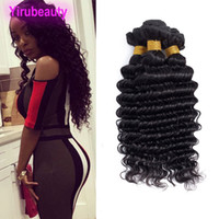 Wholesale shipping hair virgin for sale - Group buy Peruvian Human Hair Deep Wave Curly Drop shipping Bundles Deep Curly Double Wefts Peruvian Virgin Hair Products inch