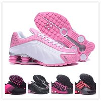 Wholesale basketball mujer for sale - Group buy Pink Black Shox Women R4 Running Shoes Chaussures R4 Basketball Shoes Woman Oz Zapatillas Mujer Trainers Shoes EU36