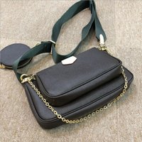 Wholesale cross body bags for sale - Group buy Quality Women leather bag brand designer original box serial number cross body woman clutch purse