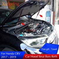 Wholesale gas spring lifts resale online - Car Refit Engine Hood Gas Shock Lift Spring Strut Bars Support Rod For Honda CR V CRV Car styling