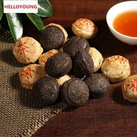 Wholesale pu er tea mini resale online - Preference g Puer Tea Broken tuo mini cakes Yunnan cooked puer Tea tuo small Chinese original healthy handmade ripe pu er tea