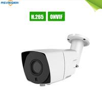 Wholesale 12mm outdoor bullet camera resale online - H IP Camera Outdoor CCTV P Network Bullet Camera mm Varifocal Wide Lens P2P ONVIF IP66 Waterproof AS IP8403T