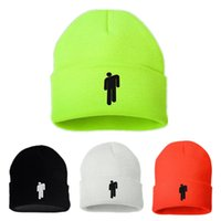 Wholesale skull cap style for sale - Group buy 8 Styles Billie Eilish Beanies Winter Hats for Woman Men Embroidery Knitted Caps Man Autumn Hat Female Warm Hip hop Beanie Bonnet M226Y