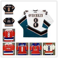 2ec29e314fd ALEXANDER OVECHKIN 8 Washington Capitals 2005 CCM Vintage Away Hockey Men s  Jersey Team Russia Vintage jerseys
