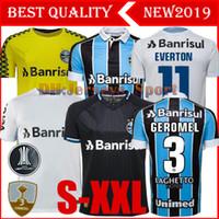 ingrosso camicie di migliore qualità-Migliore qualità 2019 Gremio Soccer Jersey 19 20 Gremio MILLER LUAN DOUGLAS DIEGO HAILON casa fuori terza maglie di calcio camisetas de futbol