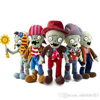ingrosso bambole giocattolo zombie-Plants vs Zombies PVZ Zombies Peluche ripiene PVZ Peluche Giocattolo Bambola Gioco Figura Statua Giocattoli per regali per bambini