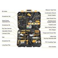 комплект авторемонтного набора оптовых-Механик Набор Инструментов Автомобильный Комплект Авто Ремонт Гаечный Ключ Гнездо 168 Шт W Ящик Для Инструментов