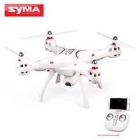 gps da câmera quadcopter venda por atacado-SYMA X8PRO GPS DRON WIFI FPV Com 720 P Câmera HD Câmera ajustável zangão 6 Eixo Altitude Segurar x8 pro RC Quadcopter RTF
