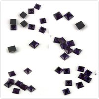 Wholesale glasses fancy dress for sale - Group buy Various Sizes Square Violet Fancy Stone Sew On Rhinestone Glass Crystal Flatback For Sewing Strass Dress Clothing