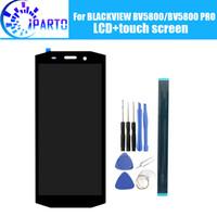 cadre d'écran i545 achat en gros de-BLACKVIEW BV5800 Écran LCD + Écran Tactile 100% Original Testé LCD Digitizer Panneau de Verre Remplacement Pour BLACKVIEW BV5800 PRO