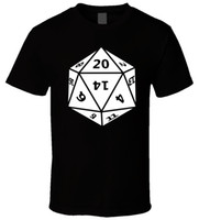 Wholesale dungeons dragons dice online - D D dungeons dragons dice New T Shirt Men Women Unisex Fashion tshirt funny