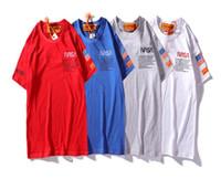 iş gündelik artı büyüklüğü kadınlar toptan satış-2019 Yeni Moda arı Polos Tişörtleri Serin Erkek Kadın NASA Artı Boyutu Yüksek Kaliteli Rahat O Boyun Kısa Kollu Yaz Iş Polo Tops