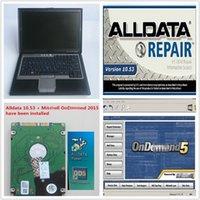 alldata otomatik tamir hdd toptan satış-DELL D630 4 GB kullanılan Laptop 1 TB HDD WIN7 sistemi Oto Tamir Alldata Soft-ware V10.53 + Demd üzerinde Mit 5 yüklü