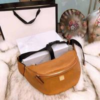 мужская сумочка оптовых-Fannypack дизайнер роскошь сумка кошелек MM шаблон женщина мужчина талия сумка сумка ремень сумка сумка конструктора большая емкость