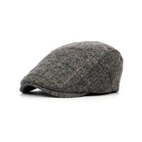 Wholesale gatsby golf hats for sale - Mens Vintage Cabbie Newsboy Cap  Casual Beret Baker Gatsby f5c9c1c02ffb