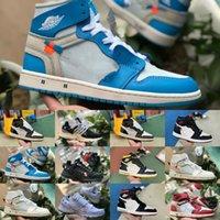 Wholesale blue suede shoes for sale for sale - Group buy Online Sale Travis Scotts X High OG Mid Basketball Shoes Cheap Retroes Unc Blue Black White Toe Men Women s Not For Resale V2 Presto Shoe