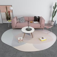 Wholesale cream color carpet resale online - INS Fashion Personality Shaped Carpet Nordic Geometric Carpet Living Room Coffee Table Shaped Rug Color Floor Mat