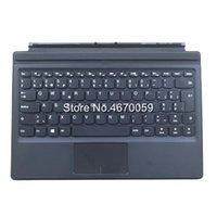 tastatur lenovo großhandel-Neue schwarze britische Tastaturbasis für Lenovo IdeaPad MIIX 510-12ISK Tablet-Hintergrundbeleuchtung 2 in 1