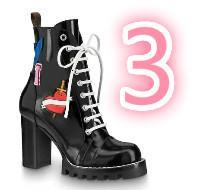 exportação de sapatos de couro venda por atacado-Vendas nova Mulheres Marca Export sapatos de couro botas Martin Botas Botas Salto Alto Caixas de presente 1A3Swy 1A2Y7U 1A2Y89