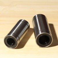 bilyalı rulmanlı cnc toptan satış-LM4LUU 4mm x 8mm x 23mm 4mm lineer rulman 4mm çubuk yuvarlak mil için burç burç cnc