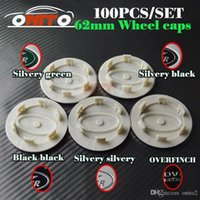 Wholesale range rover discovery resale online - 62mm inch emblem Wheel hub Cap Badge Car Wheel Center caps for land rover Range Discovery Freelander Evoque badge auto Cover styling