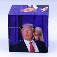 jouets éducatifs pour adultes achat en gros de-Trump Cube Puzzle jouet Trump Magic Cube Intelligence Jouets Adultes Enfants Trois niveaux jouet éducatif avancé LJJK1179