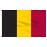Wholesale flag belgium for sale - Group buy factory price Polyester cm x5fts black yellow red BEL BE belgium flag For drop shipping