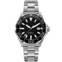mouvements de montre automatiques achat en gros de-montres de luxe hommes mouvement automatique style classique boîtier en acier inoxydable montre 5ATM étanche super lumineux orologio di lusso