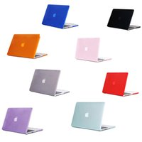 Wholesale 17 inch macbook pro hard case resale online - Universal Crystal Clear Rubberized Hard Protective Case For Macbook Air Pro Retina with pack