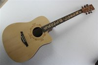 Wholesale model chicken online - New Style Chinese Zodiac Memorial quot Acoustic Guitar Chicken Model Chinese Zodiac Fretboard Inlay Offer Customized