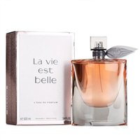 Wholesale big perfume for sale - Group buy La Vie Est Belle Perfume for Woman Fragrance Big Counter Quality ML EDT Flower Fruit Notes Damascus Rose Ribbon Efficient Durable