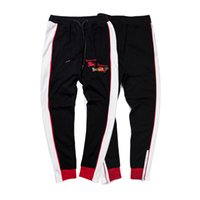 tierjogger großhandel-Mens Luxury Sweatpants mit Buchstaben Lange Marke Designer Track Pants für Männer Jogger Animal Braned Drawstring Hose Kleidung Größe M-2XL