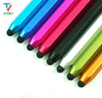 Wholesale xoom tablets for sale – best 1000pcs Metal Capacitive Touch Pen Stylus For iPhone iPod Touch iPad For samsung Tablet Blackberry Motorola XOOM