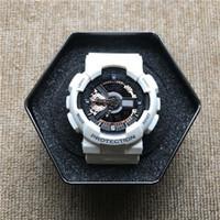 relógio de fita venda por atacado-GW9400 venda quente G relógio dos homens dos esportes LED relógio eletrônico tempo do mundo à prova d 'água e à prova de choque fita frete grátis