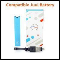 Wholesale vape pen ejuice resale online - JOLL JOLL Stater Kits mah Compatible Vape Pen Battery Can Fit Compatible Pods Pod With Ejuice E Cigarette Electronic Cigarette