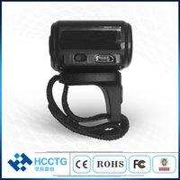 scan china venda por atacado-HOT Bluetooth Anel 2D Barcode Scanner Reader para Windows Android HID QR SPP Código Modo 1D 2D sem fio com CMOS Vídeo HS-S03