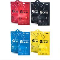 paquete de embalaje al por menor vacío al por mayor-3000pcs 180 * 88mm Paquete de cajas vacías al por menor Empaquetado para vidrio templado Premium 9H Protector de pantalla Sony iPhone Samsung