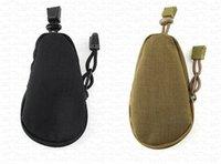 ingrosso borse a tracolla in nylon-Mini borsa tattica militare piccola borsa portamonete portachiavi borsa portamonete in nylon con chiusura a coulisse