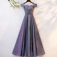 adelgazando el vestido de la longitud del piso al por mayor-Nuevo vestido de noche elegante de color caqui fuera del piso hasta el suelo Cheongsam Vintage Noble Qipao boda vestido femenino delgado S-3XL