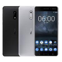 16mp kamera akıllı telefonlar toptan satış-Yenilenmiş Nokia 6 5.5 Inç 64 GB ROM 4 GB RAM 16MP 8MP Kamera Çift SIM Akıllı Cep Telefonları