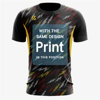 t-shirt individuell gestalten großhandel-2019 Einfache Kreatives Design Shirt Blitz-Serie gedruckt T-Shirt Kurzarm, alle Arten von Farbanpassung, Männer / Frauen wo